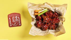 Крильця Sriracha BBQ Kush (8шт)