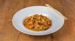Sweet'n'sour tuna wok