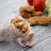Crispy Chicken Wrap ملفوف دجاج كريسبي