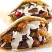 Döner Kebab Con Queso Y Ternera