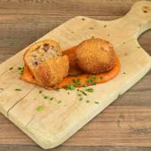 Croquetas caseras de jamón y cecina (2 uds.)