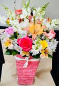 ყვავილები ყუთით
