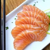 Sashimi de salmón (5 uds.)
