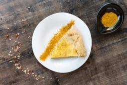 Torta salata al profumo di curry