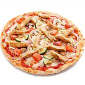 Pizza vegana (mediana)