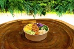 Poké bowl mediano