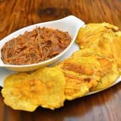 Patacones con mexicana (5 ud.)