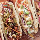 2 Tacos soft -Pulled Pork