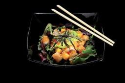 Tempura Scampi Salad