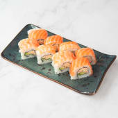 California rainbow roll (8 uds.)