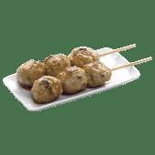 Yakitori boulettes de poulet