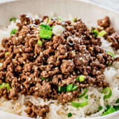 Rice Minced Beef