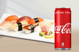 Box sushi per 1 persone + Coca-Cola