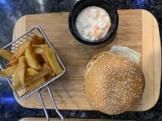 Cheese Burger Plat