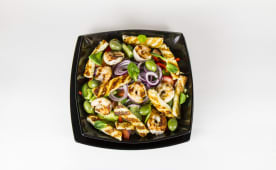 Salata Halloumi cu Creveti