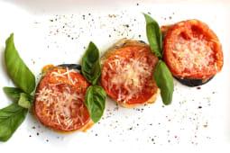 Баклажани, запечені з томатами та сиром (200г)