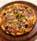 Pizza Capriciosa mare