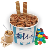ForYou - Manteiga de Amendoim, M&M e Caramelo