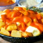 Patatas bravioli