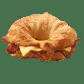 კრუასანი ბეკონით და ყველით / Croissant Bacon & Cheese