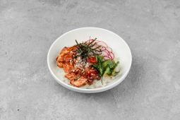 Поке з куркою теріяки - гостра страва (340г)