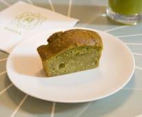 Macha mini-plumcake