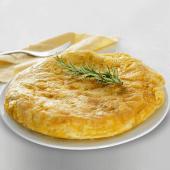 Tortilla De Patatas Con Pimiento Verde