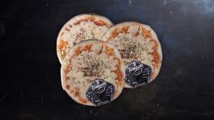 3 Pizzas Grandes Muzza Congeladas