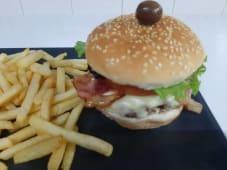 Hambúrguer de Alheira