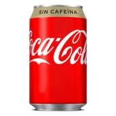 Coca-Cola Zero Sin Cafeína (33 Cl.)