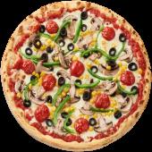 Pizza Vegetariana Post Ø 24cm