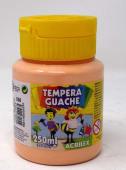 Tempera Escolar 250Ml Guache Amarillo Piel 2025/538.8