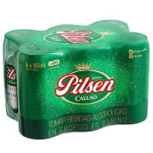 Six Pack Pilsen Lata 355 Ml