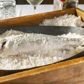 29. Pescados a la sal (mínimo para dos personas)