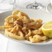 7. Calamares de potera fritos al aceite de oliva virgen