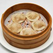 #102 Xiaolongbao relleno de carne al vapor
