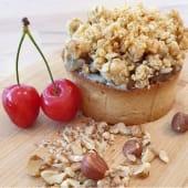 Tartaleta apple cheesecake crumble pie