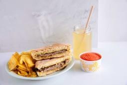 Oferta €1: Menu Davvero Completo – Burgers de Peixe