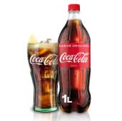 Coca-Cola Sabor Original botella 1L.