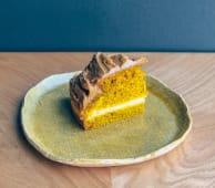 Апельсиновий пиріг з варенням з хурми без цукру та жалю (150г)