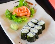 Maki com Sashimi