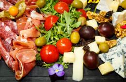 Platou affettati e formaggi (2 pers.)