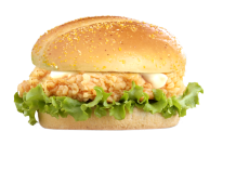 KnockOut Chicken Burger