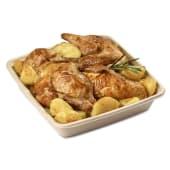 Menu Pollo 2- 1 pollo intero e due porzioni di patate mitiche