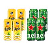 4X Ciuc Radler Lamaie si Lime 1.9% alcool + 4X Heineken doza