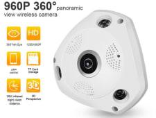 Camara Wifi 360 Grados En 3D Panoramica Hd Audio Y Video