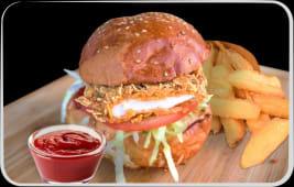 Meniu Burger Crispy chicken + 1 COCA COLA GRATUIT