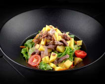 Salata cu rata si mango