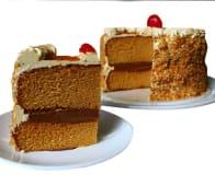 Torta de caramelo pequeña (8 porciones)