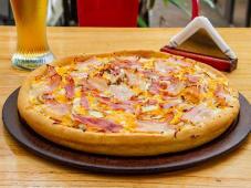 Bacon cheese burger (pizzeta)